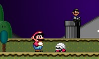 Mario Flash Halloween